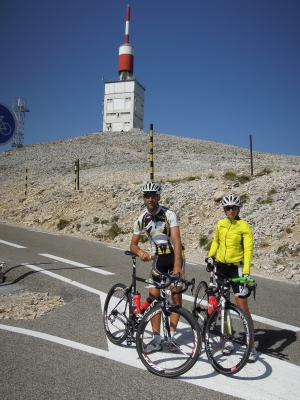 Mt. Ventoux; Anita in Matjaž